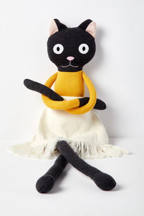 Chloe Cat Knitted Toy