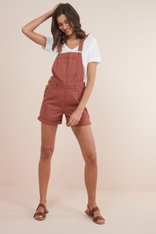 Next Dungaree Shorts