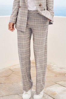 Next Emma Willis Check Pastel Wide Leg Trousers - 231708