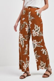 Next Tropical Wide Leg Trousers