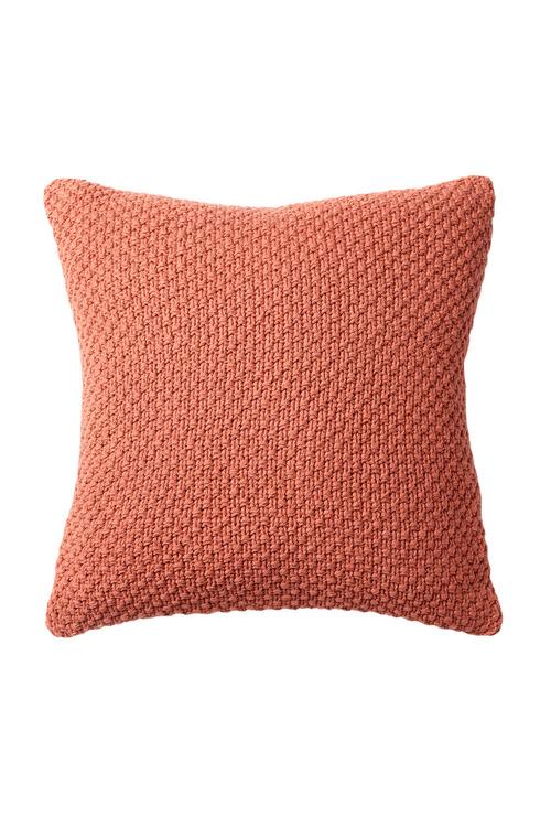 Moss Stitch Knitted Cushion