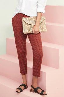 Next Cotton Rich Capri Trousers - 231722