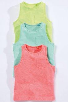 Next Vests Three Pack (3mths-7yrs)