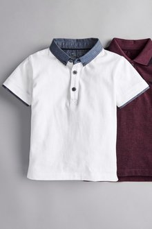 Next Short Sleeve Smart Polo (3mths-7yrs)