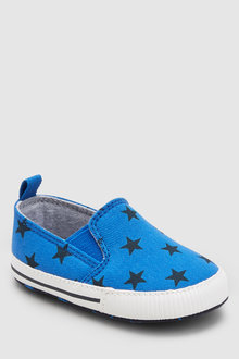Next Star Slip-On Pram Shoes (0-24mths)