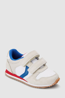 78ebb416c7c Next Double Strap Trainers (Younger)