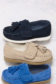 b79986cdb82 Next Suede Tassel Loafers (Younger)