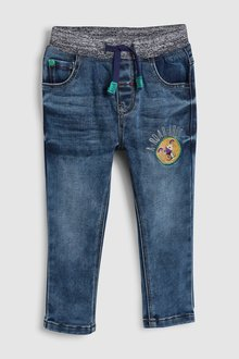 Next Pull-On Badge Jeans (3mths-7yrs)