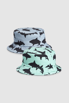 Next Shark Fisherman's Hat Two Pack (Younger)