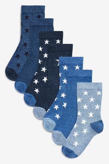 Next Star Socks Seven Pack (Younger)