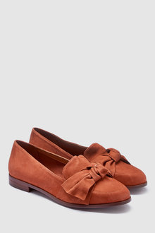 Next Bow Loafers