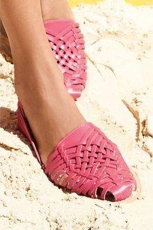 Next Woven Leather Huarache Shoes