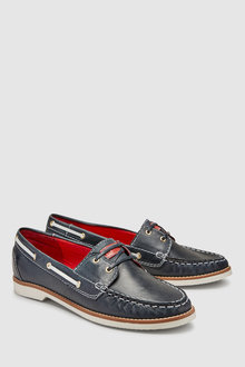 Next Leather Forever Comfort Boat Shoes