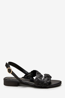 Next Forever Comfort Asymmetric Weave Sandals
