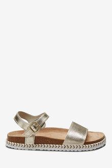 Next Jute Footbed Sandals