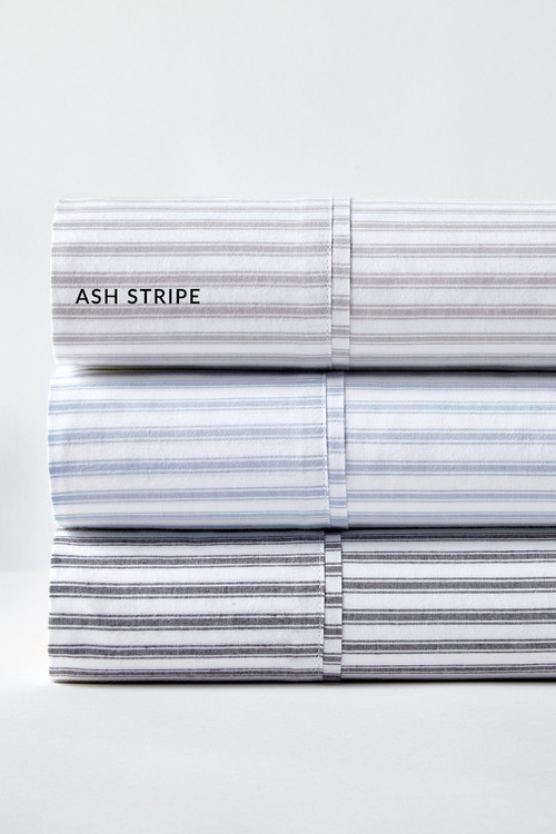 Organic Cotton Ticking Stripe Sheet Set