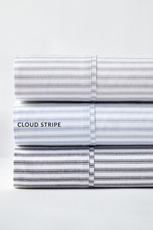 Organic Cotton Ticking Stripe Sheet Set