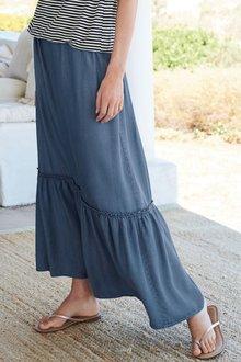 Next Tiered Maxi Skirt- Tall