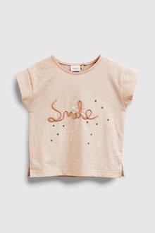 Next Embellished Smile T-Shirt (3mths-7yrs)