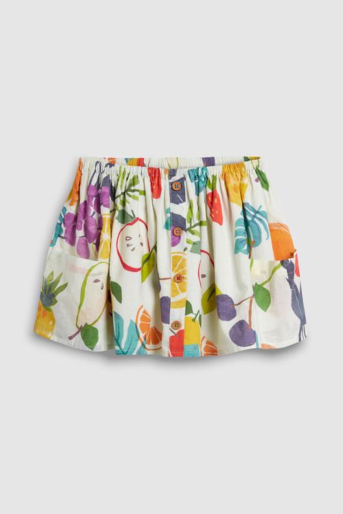 Next Fruit Print Button Front Skirt (3mths-7yrs)