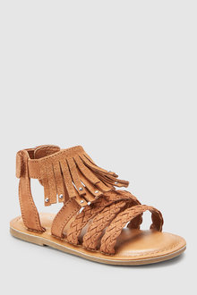 Next Fringe Sandals (Younger)