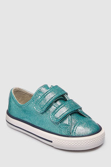 Next Glitter Touch Fastening Trainers (Younger)