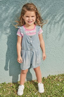 Next Snap Front Dungarees (3mths-7yrs)