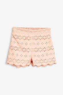 Next Broderie Shorts (3mths-7yrs)