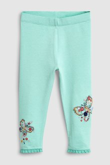 Next Butterfly Embellished Leggings (3mths-7yrs)