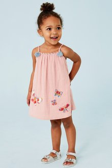Next Embroidered Butterfly Sundress (3mths-7yrs)