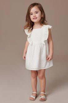 Next Frill Broderie Dress (3mths-7yrs)