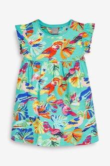 Next Bright Parrot Dress (3mths-7yrs)