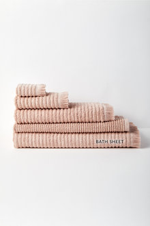 Rib Bath Sheet - 232142