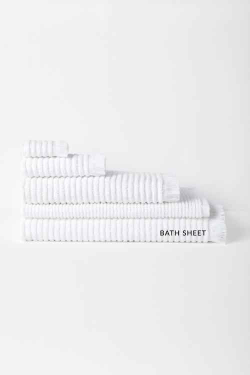 Rib Bath Sheet