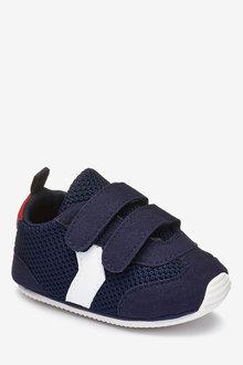 Next Double Strap Pram Shoes (0-24mths)