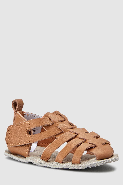 64ce3ea19 Next Pram Leather Woven Sandals (0-24mths) Online