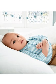 Next Gingham Shirt Bodysuit (0mths-2yrs)
