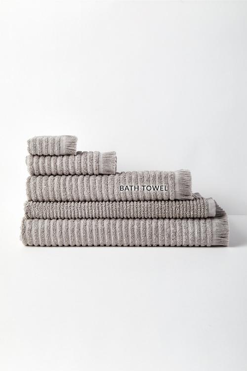 Rib Bath Towel