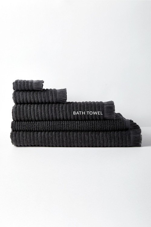 Rib Bath Towel