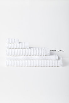 Rib Bath Towel - 232164