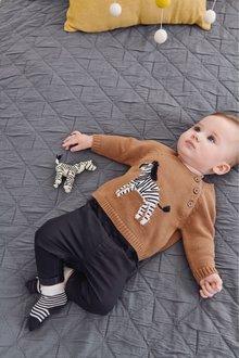 Next Zebra Knit Jumper (0mths-2yrs)