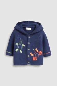 Next Character Hooded Cardigan (0mths-2yrs)