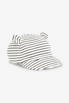 Next Stripe Bear Ear Cap (0mths-2yrs)