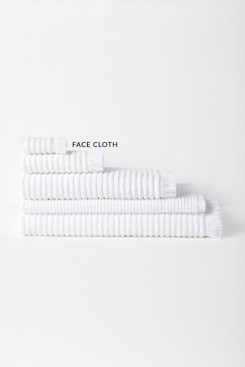 Rib Face Cloth