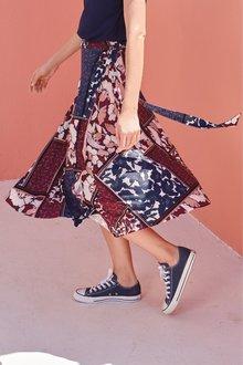 Next Wrap Skirt- Petite