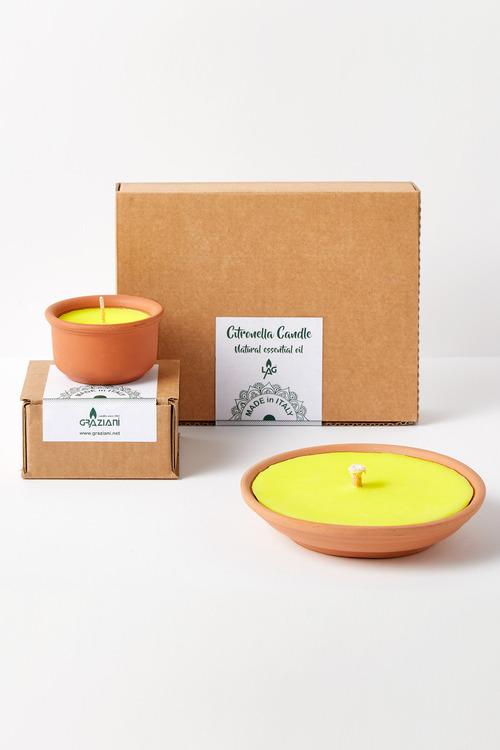 Graziani Terracotta Citronella Candle