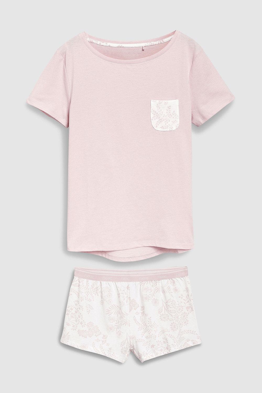 3b5cd0a4f08ce0 Next Cotton Blend Pyjama Short Set Online   Shop EziBuy