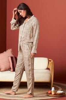 Next Paisley Button Through Pyjamas