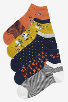 Next Trainer Socks Five Pack