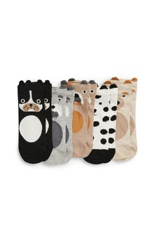 Next Animal Faces Socks Five Pack